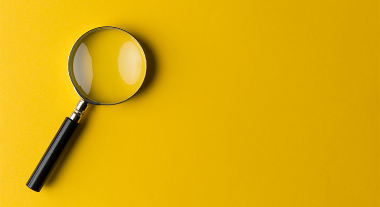 A Magnifying Glass Looking For The Next Market Crash.