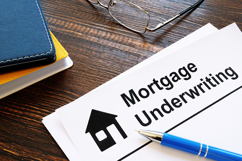 Mortgage Underwriting On Page